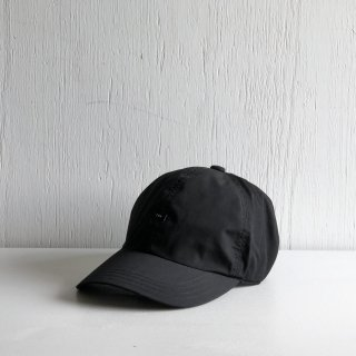 CPH <br> 6 PANEL CAP <br> POLY COTTON WEATHER <br>black