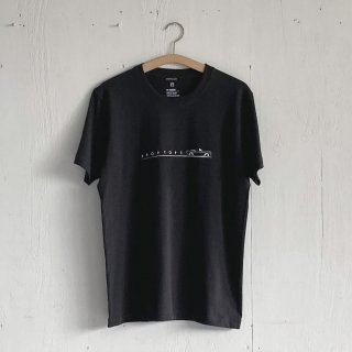 BAYGARAGE T Shirt<br>Drop Tops<br> Charcoal