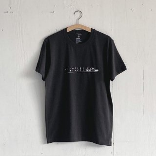 BAYGARAGE T Shirt<br>Shooting Brakes<br> Charcoal