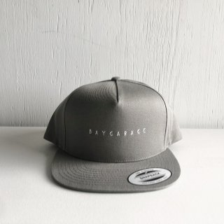 BAY GARAGE 5 Panel Cap<br>  New Logo <br> gray