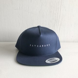 BAY GARAGE 5 Panel Cap<br>  New Logo <br> navy