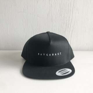 BAY GARAGE 5 Panel Cap<br>  New Logo <br> black