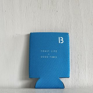BAY GARAGE Koozie <br>Coast Life + Good Times<br>Light Blue