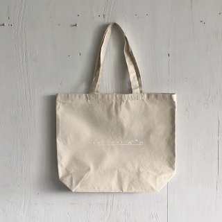 BAY GARAGE Canvas Tote Bag <br>Drop Tops<br> Natural