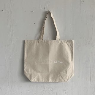 BAY GARAGE Canvas Tote Bag <br>Shooting Brakes<br> Natural