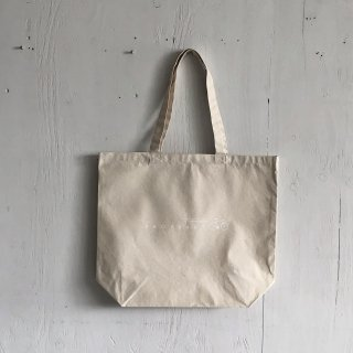 BAY GARAGE Canvas Tote Bag <br>Drop Bars<br> Natural