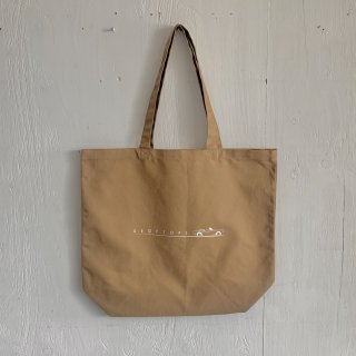 BAY GARAGE Canvas Tote Bag <br>Drop Tops<br> Sand Beige