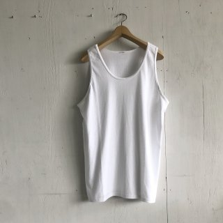 BAY GARAGE  Tank Top <br>New Logo<br>White