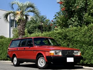 1990 Volvo 240 Estate GL Limited</br>1 owner / 横浜33 </br>All maintenance records