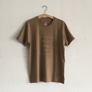 BAYGARAGE T Shirt<br>Coast Life + Good Times<br> Camel