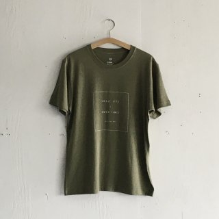 BAYGARAGE T Shirt<br>Coast Life + Good Times<br> Olive