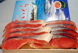 【親子セット】チリ産塩銀鮭(10切れ)と塩イクラ(500g)の親子セット