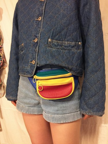 vintage colorful pochette