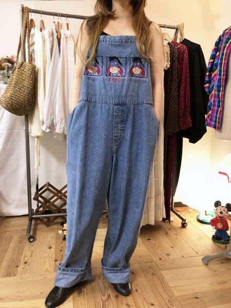 DISNEY EEYORE denim all-in-one