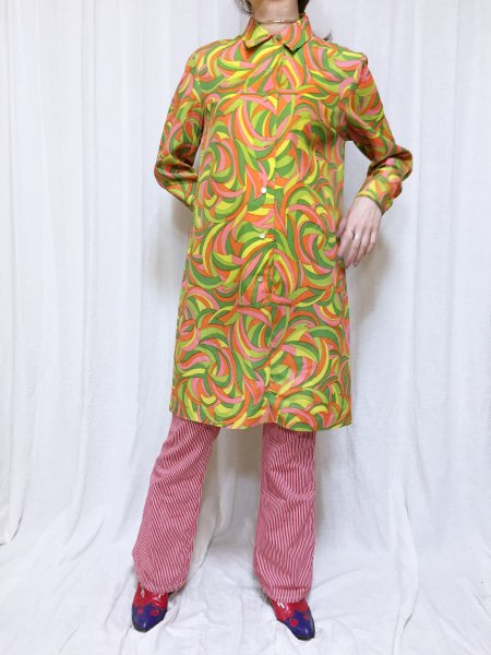 psychedelic colorful dress