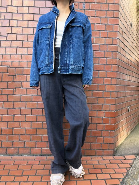 <img class='new_mark_img1' src='https://img.shop-pro.jp/img/new/icons14.gif' style='border:none;display:inline;margin:0px;padding:0px;width:auto;' />denim boa jacket