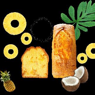 ■季節限定■ココナッツパインパウンド(1本)