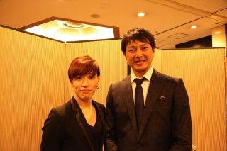2015年 岩隈久志選手ノーヒットノーラン祝賀会にて!