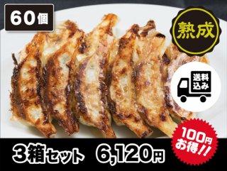 熟成豚肉生餃子 3箱セット   送料込み