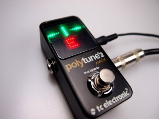 【outlet】 tc electronic polytune2 noir