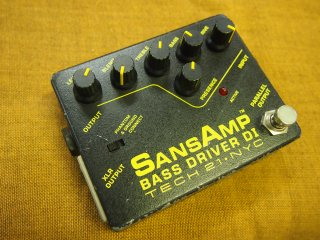 TECH21 SANSAMP BASS DRIVER