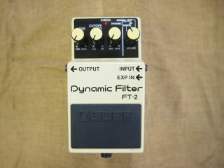 BOSS FT-2 Dynamic Filter LED切れ