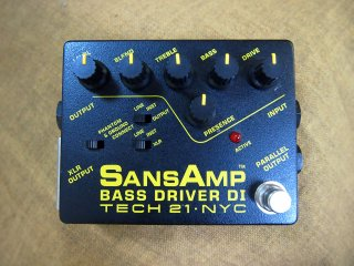 TECH 21 SANSAMP BASS DRIVBER DI