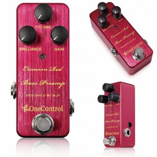【new】One Control Crimson Red Bass Preamp