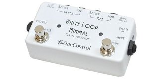 【new】One Control Minimal Series White Loop