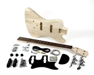 【new】Pit Bull Guitars RD-4 Electric Bass Guitar Kit