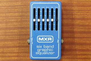 MXR M-109 6Band EQ Equalizer