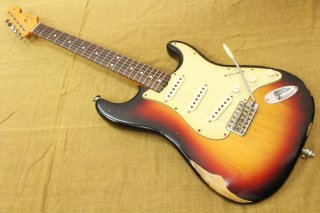 Fender Mexico Classic Series Road Worn 60S Stratocaster 3 Color Sunburst