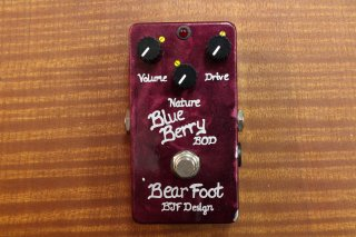 BearFoot Effects BlueBerry Bass Overdrive