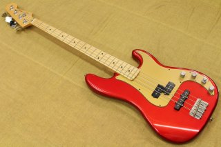 Fender Deluxe Active P-Bass Special Chrome Red