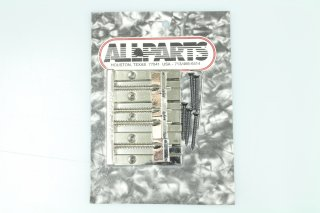 【new】 ALLPARTS OMEGA Bass Bridge Nickel 4st.