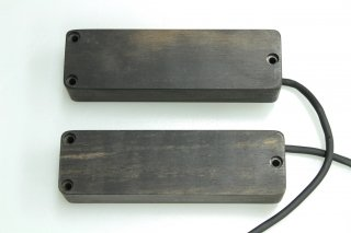 haeussel pickups Bass Bar 5 Ebony