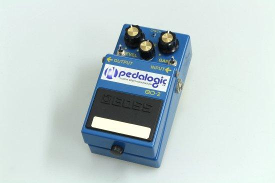 BOSS BD-2 pedalogic (waxx) mod.
