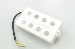 【new】 DELANO MC 4 FE Delano 4-string dual coil humbucker pickup white