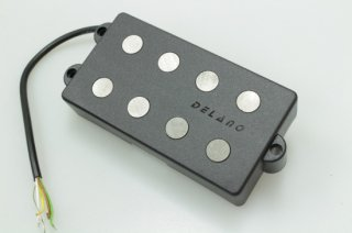 【new】DELANO MC 4 AL Delano 4-string dual coil humbucker pickup