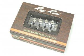 【new】Ray Ross Bass Bridge 4st Chrome