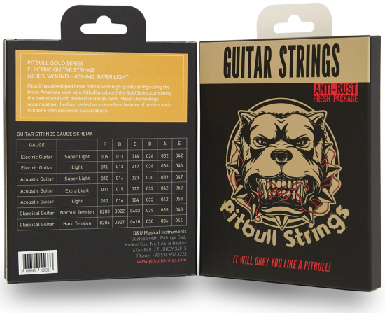 Pitbull Strings for E.Guitar【送料無料】