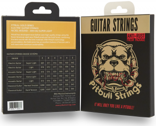 Pitbull Strings for 6strings E.Guitar【送料無料】