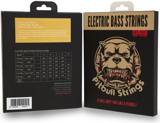 Pitbull Strings for 6strings E.Bass【送料無料】
