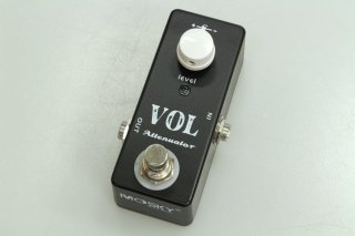 【new】MOSKY AUDIO Micro Pedal black VOL ATTENUATOR(Signal Pad)