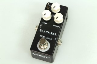 【new】MOSKY AUDIO Micro Pedal BLACK DISTORTION(Pro Co RAT)