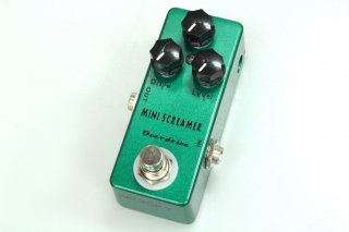 【new】MOSKY AUDIO Micro Pedal GREEN Overdrive MINI SCREAMER (Ibanez TS9)