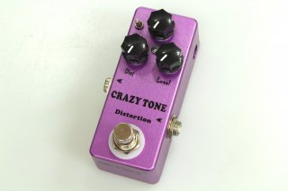 【new】MOSKY AUDIO Micro Pedal purple Crazy Tone DISTORTION(Suhr RIOT)