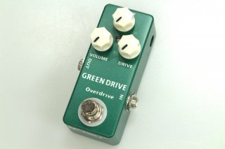 【new】MOSKY AUDIO Micro Pedal Green OVERDRIVE
