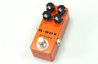 【new】MOSKY AUDIO Micro Pedal ORANGE B-BOX PREAMP (Xotic BB Preamp)