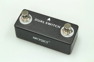 【new】MOSKY AUDIO Micro Pedal black Dual Switch